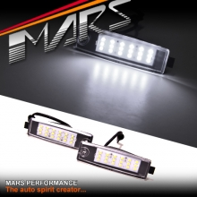 Super bright LED SMD Number Plate Lights for TOYOTA Hiace & RAV4