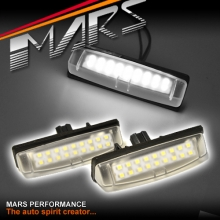 Super bright SMD Number Plate Lights for Lexus Is200 Is300 Gs300 Gs430
