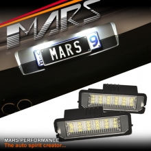 Super Bright SMD Trunk Number Plate Lights for VW GOLF IV V EOS PASSAT SCIROCCO BEETLE