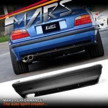 M3 style Rear Bumper Bar for BMW E36 Sedan & Convertible & Coupe