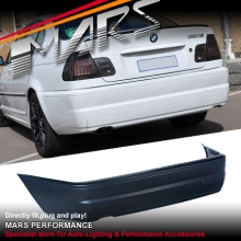 M3 style Rear Bumper Bar for BMW E46 2 Doors Coupe & Convertible