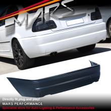 M3 style Rear Bumper Bar for BMW E46 4 Doors Sedan 98-04