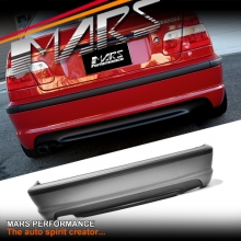M Tech style Rear Bumper Bar for BMW E46 4 Doors Sedan 98-01 & 02-04