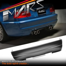M3 CSL Style Rear Bumper Bar for BMW 3-Series E46 4 doors Sedan 98-04