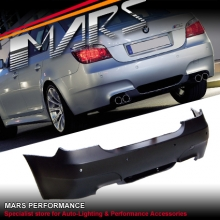 M5 style Rear Bumper Bar for BMW E60 08-09 Sedan with Twin Exhaust Outlet