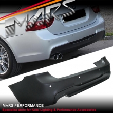 BMW E91 05-08 Wagon M Tech Sports Rear Bumper Bar with Single Exhaust Outlet