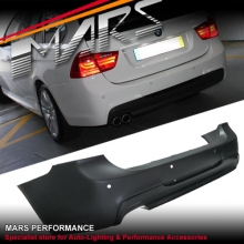 BMW E91 09-11 Wagon M Tech Sports Rear Bumper Bar with Single Exhaust Outlet