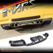 Vorsteiner Style Real Carbon Fiber Rear Bumper Bar Diffuser for BMW E92 E93 M3