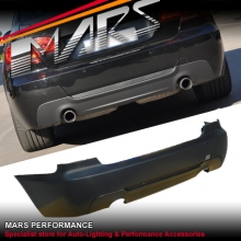 M Tech M Sports style Rear bumper bar for BMW E92 Coupe with Twin Exhaust Outlet