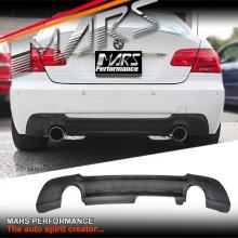 Real Carbon Fiber Rear Bumper Bar Diffuser for BMW E92 M Tech Sports 335i