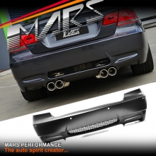 M3 style Rear bumper bar for BMW E92 Coupe & E93 Convertible with Twin Exhaust outlet