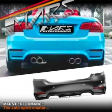 M4 F82 Style Rear bumper bar for BMW 3 Series E92 Coupe & E93 Convertible