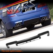 M5 Style ABS Plastic Rear Diffuser for BMW 5-Series F10 Sedan M Tech M Sports Bumper bar