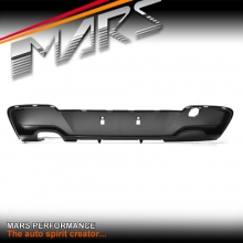 Performance Style Rear Bumper bar Diffuser with Single Exhaust outlet for BMW 1-Series F20 Hatch Pre LCI 11-15