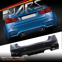 F80 M3 Style Rear Bumper Bar for BMW 3-Series F30 4 doors Sedan