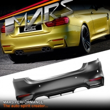 F82 F83 M4 Style Rear Bumper Bar for BMW 4-Series F32 Coupe & F33 Convertible