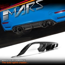 M Performance Style Carbon Fiber Rear Bumper Bar Diffuser for BMW F80 M3 & F82 F83 M4