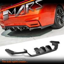 Vorsteiner Style Carbon Fiber Rear Bumper Bar Diffuser for BMW F80 M3 & F82 F83 M4