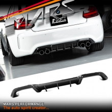 BMW M Performance Style Carbon Fibre Rear bumper Bar Diffuser for BMW F87 M2