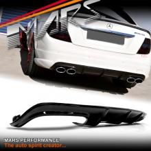 Real Carbon Fiber OEM Rear Bumper Bar Diffuser for Mercedes Benz AMG C63 W204 08-11