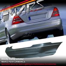 AMG Style Rear Bumper Bar for Mercedes-Benz C-Class W203 Sedan