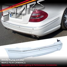 AMG E63 Style Rear Bumper Bar for Mercedes-Benz E-Class W211 03-08