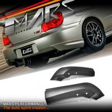Rear Bumper bar Splitters Lip Spoiler for SUBARU GD Impreza Sedan 03-05 05-07