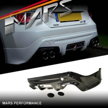 TRD Style Rear Bumper Bar Lip with Twin Exhaust outlet for TOYOTA 86 GT & GTS 12-16