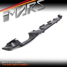 STI S Pack Style Matt Black Rear Bumper Bar Diffuser Lip for TOYOTA 86 GT GTS & SUBARU BRZ 12-16