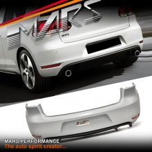 GTi Style Rear Bumper Bar for VolksWagen VW Golf VI 6 Hatch
