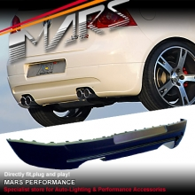 GTi Style Rear Bumper Bar Lip for VolksWagen VW Golf V 03-08
