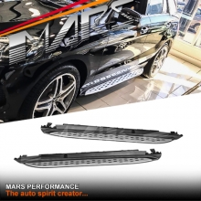 Mercedes Benz OEM Style Running Boards Side Step Bar for W166 ML Class & GLE Class