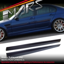 M3 Style Side Skirts For BMW E46 4D Sedan 98-01 & 02-04