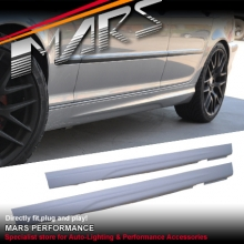 M Tech Style Side Skirts For BMW E46 4D Sedan 98-01 & 02-04