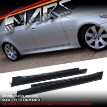 M5 Style Side Skirts For BMW 5 Series E60 SEDAN 03-09