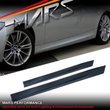 M Tech Sports Style Side Skirts for BMW E90 05-08 Sedan & Wagon