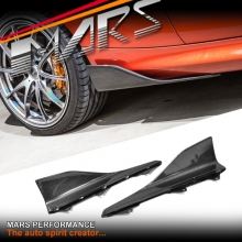 Performance Style Carbon Fibre Side Skirts Splitter Lip Spoiler for BMW 2-Series F20 include F87 M2