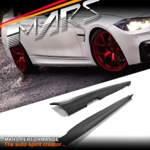 F80 M3 Style Side Skirts for BMW 3-Series F30 4 doors Sedan