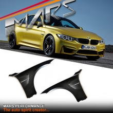 F82 F83 M4 Style Side Fender Guard with Vents for BMW 4-Series F32 Coupe F33 Convertible or F36 Sedan