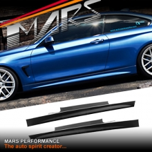 BMW M Tech Sports Style Side Skirts for 4 Series F32 2 doors Coupe 420i 420d 428i 435i