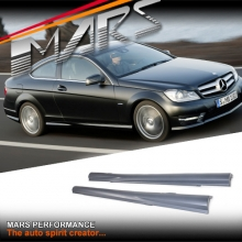 AMG Package Style Side Skirts for Mercedes-Benz C-Class C204 Coupe 11-15