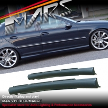 AMG C55 Style Side Skirts for Mercedes-Benz C-Class W203 Sedan