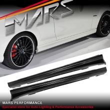 AMG C63 Style Side Skirts for Mercedes-Benz C-Class W204 Sedan 07-14