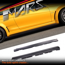 AMG C63 Black Series Style Side Skirts for Mercedes-Benz C-Class W204 Sedan 07-14