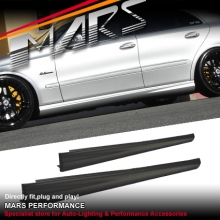 AMG E63 Style Side Skirts for Mercedes-Benz E-Class W211 Sedan
