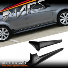 Evolution X Style Side Skirts For Mitsubishi CJ lancer Sedan 07-16