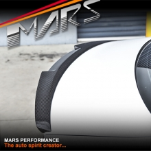 MARS Performance Carbon Fibre Rear Trunk Lip Spoiler for AUDI A3 S3 8V 4 Doors Sedan 13-17