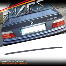 M3 Style ABS Plastic Rear Trunk Lip Spoiler for BMW E36 4 doors Sedan