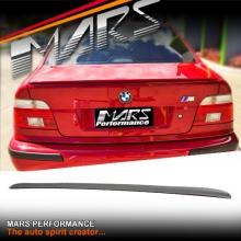 M5 Style FRP Rear Trunk Lip Spoiler wing for BMW 5-Series E39 4 doors Sedan
