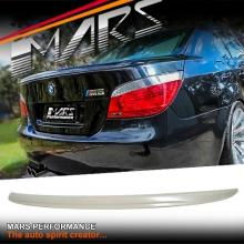 M5 Style ABS Plastic Rear Trunk Lip Spoiler for BMW E60 Sedan 03-09